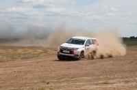 Mitsubishi Pajero Sport и Хироши Масуока - раллийный тест-драйв
