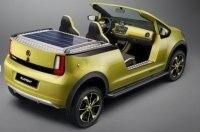 Опубликованы новые подробности об электромобиле Skoda Element