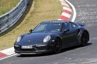 Прототип следующего Porsche 911 Turbo замечен на Нюрбургринге