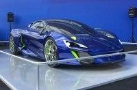 Шинная компания Michelin выпустит гибридный гиперкар Boreas