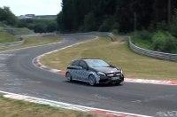 Mercedes испытал на Нюрбургринге гибридную версию нового A45 AMG