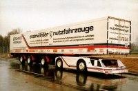 Уникальный грузовик Supercargo 2040 пылится на задворках Штутгарта