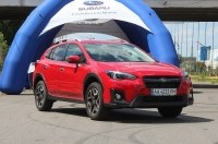Новую Subaru XV презентовали в Киеве на «Чайке»