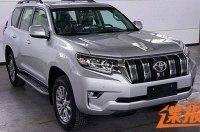«Живые» фото обновлённого Toyota Land Cruiser Prado