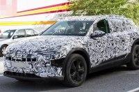 Audi приступила к дорожным тестам электрического кроссовера