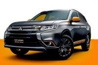 Mitsubishi Outlander добавили ярко-оранжевых акцентов