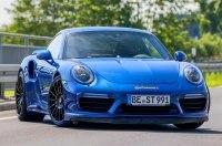 «Синяя стрела»: купе Porsche 911 разогнали до 344 километров в час