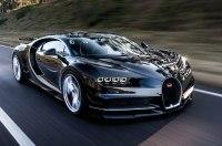 Преемник Bugatti Chiron станет гибридом
