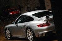 Шпионы сфотографировали Porsche GT2 на автосалоне во Франкфурте