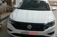 Появились первые фотографии нового седана VW Jetta