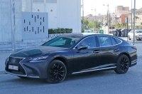 Lexus начал испытания 600-сильного седана LS