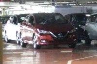 «Живые» фото электрокара Nissan Leaf нового поколения