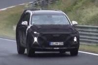 На Нюрбургринге замечен закамуфлированный Hyundai Santa Fe нового поколения