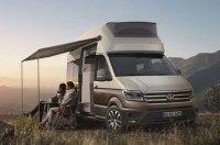Volkswagen превратил Crafter в двухэтажный дом на колесах