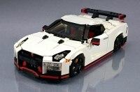 Игрушечный Nissan GT-R Nismo воссоздали из кубиков Lego
