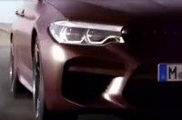 BMW M5 нового поколения показали на видео