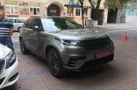 Первый кроссовер Range Rover Velar уже видели в Украине