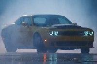 Видео: дрэговый Dodge дрифтит в городе