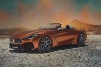 Родстер BMW Z4 Concept рассекречен до официальной премьеры