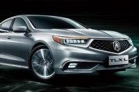 Удлинённый седан Acura TLX-L: первые официальные фото