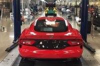 Dodge завершил выпуск суперкара Viper