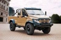 «ГАЗ» построил пикап с 32-сантиметровым клиренсом для экстремального бездорожья