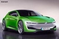 Volkswagen Scirocco возрождается как спортивное электрическое купе