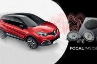 Почувствуйте музыкальный драйв с Renault Captur и аудио системой Focal