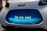 Smart заинтриговал новым полностью автономным электромобилем