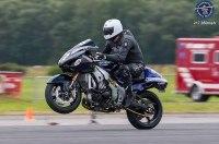 Мировой рекорд: 350 километров в час на заднем колесе мотоцикла