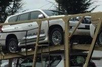 Рестайлинговый Toyota Land Cruiser Prado снова угодил в объектив