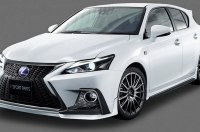 Lexus, гибрид да еще и со спортивным обвесом - все это CT 200h в версии F Sport