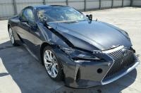 В ДТП разбили первое купе Lexus LC и уже выставили его на продажу за $ 31 тыс.