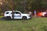 Гудини в юбке: в Техасе закованная в наручники женщина угнала полицейский внедорожник