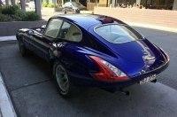 На классический Jaguar E-Type установили фонари и фары от Nissan 370Z. Получилось не очень