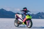 Pirelli разогнала скутер до 142 километров в час. Это мировой рекорд