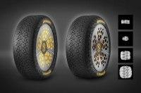 Continental научит шины менять форму