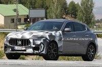 Maserati вывела на тесты самую быструю версию кроссовера Levante