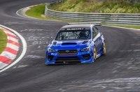 Посмотрите, как Subaru WRX STI стал самым быстрым седаном Нюрбургринга