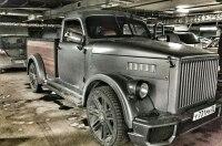 Хот-род ГАЗ-51 на базе Chevrolet и салоном в духе Бугатти