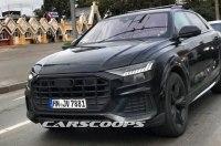 Флагманский внедорожник Audi сфотографировали на тестах