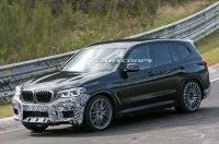 «Заряженный» BMW X3 M замечен на Нюрбургринге