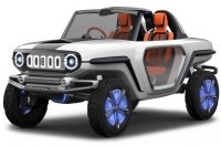 Suzuki покажет будущее кроссоверов на концепте без крыши и дверей