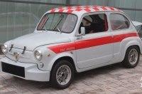 Классический Seat 600 превратили в спортивный Abarth