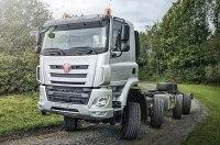 Tatra «научила» грузовик двигаться «крабом»