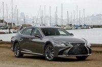 Дешевле конкурентов: названы официальные цены нового Lexus LS