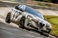 Alfa Romeo Stelvio Quadrifoglio стал быстрейшим кроссовером Нюрбургринга