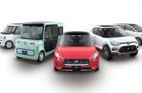Новинки Daihatsu в Токио: минивэн, седан, кроссовер и два кей-кара