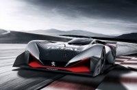 Виртуальному суперкару Peugeot добавили крыльев и лошадиных сил