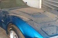 Шикарный Corvette 45 лет простоял в гараже из-за отсутствия денег на страховку